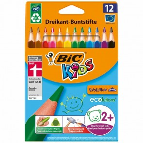 BIC Farbstifte KIDS evolution Triangle 12 Stück
