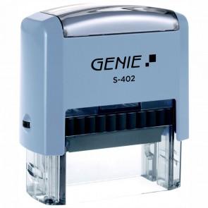 GENIE S-402 Stempel-Set 4-zeilig zum selbstsetzen