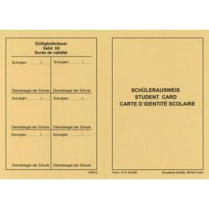 DÖRFLER Schülerausweis DIN A7 Form. E51EU/88