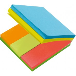 POST-IT Multi-Notes, 3x654  farbige Notes plus Pagemarker