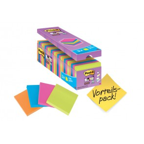 POST-IT Haftnotiz Super Sticky 654SE24P 76x76mm 24 Blöcke