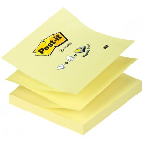 POST-IT Haftnotiz Z-Notes  R-330 gelb 76x76mm 100 Blatt