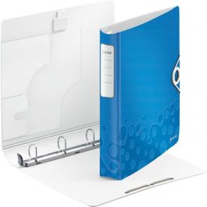 LEITZ Ringbuch 4240 Active WOW 4-Ringe 30mm blau
