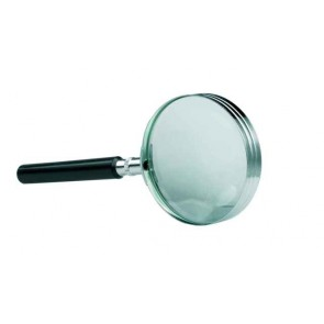 ALCO Leselupe Glaslinse Ø65mm vernickelt, Griff schwarz