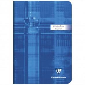 CLAIRFONTAINE Vokabelheft A5 3 Spalten 32 Blatt