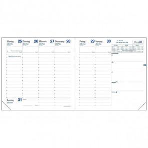 QUO VADIS Buchkalender Einlage 14004Q EXECUTIF 16x16cm 2019