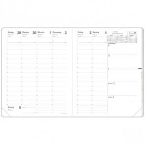 QUO VADIS Buchkalender Einlage 16006Q PRE 777 21x27cm 2019
