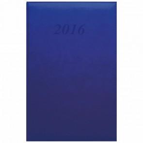 QUO VADIS Buchkalender 911139Q ABP Prestige Brand 16x24cm blau 2018
