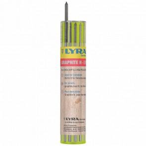 LYRA DRY Ersatzminen Graphit H 2,8mm 12 Stück