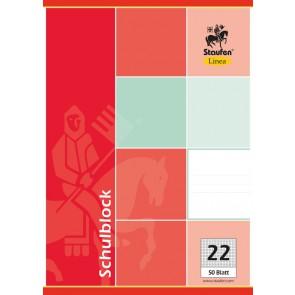 Schulblock Linea A4 50Bl kariert