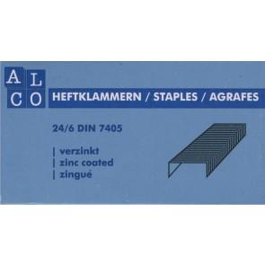 ALCO Heftklammer 505 24/6 verzinkt 1000 Stück