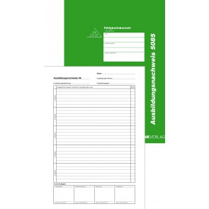 RNK Berichtsheft 5085 A4 24 Blatt monatlich