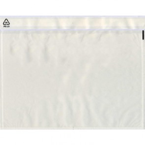 UNIPACK Begleitpapiertaschen unbedruckt PP C4 310x240mm 500 Stück