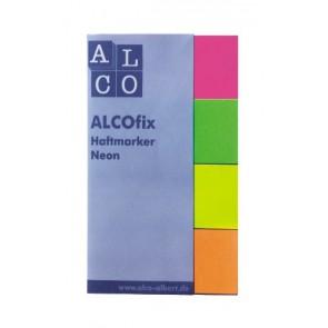 ALCOfix Haftmarker NEON  20x50mm 4x50 Stück