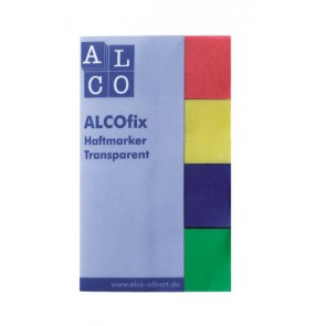 ALCOfix Haftmarker Film  transparent 20x50mm 4x40 St.