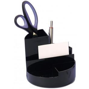 WEDO Butler Rundbox schwarz 6 Fächer