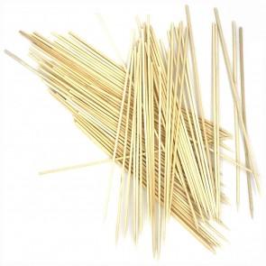 Holzspieße Schaschlickstäbe Grillspieße 25cm natur 80 Stück