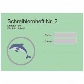 Schreiblernheft A4 quer Nr. 2 16 Blatt