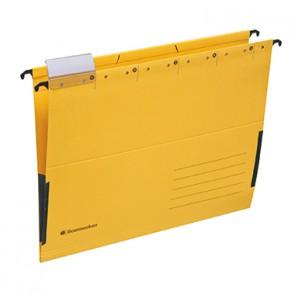 Soennecken Hängetasche 2028 DIN A4 230g Recyclingkarton gelb