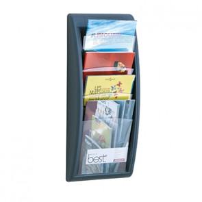 Paperflow Prospekthalter Quick Blick 4061.11 DIN A4 hoch an