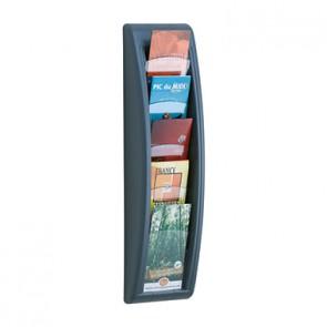 Paperflow Prospekthalter Quick Blick 4062.11 1/3 DIN A4 hoch an