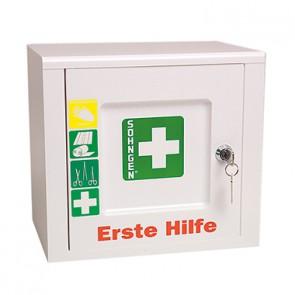 SÖHNGEN Erste Hilfe Schrank PICCOLO 5001024 DIN 13157 gefüllt weiß