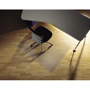 Soennecken Bodenschutzmatte 2586 Form U 130x120cm für Hartböden