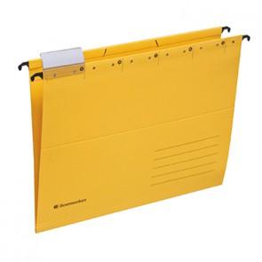 Soennecken Hängemappe 2023 DIN A4 230g Recyclingkarton gelb
