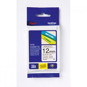 P-touch Schriftbandkassette TZE161 36mmx8m laminiert sw auf fl
