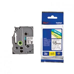 P-touch Schriftbandkassette TZE141 18mmx8m laminiert sw auf fl