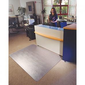Soennecken Bodenschutzmatte 2591 Form O 90x120cm für Teppichböden