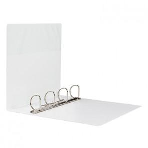 Soennecken Präsentationsringbuch 4145 DIN A4 76mm 4 Ringe weiß