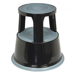 Soennecken Rollhocker 3617 mit 3Gleitrollen schwarz
