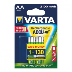 Varta Akku Ready2Use 56706101402 AA Mignon 2 St./Pack.