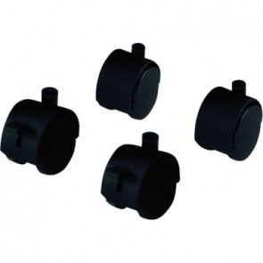 Hailo Rollen 0912-999 für ProfiLine WS120 schwarz 4 St./Pack.