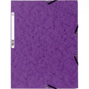 Exacompta Eckspanner Nature Future 55508E DIN A4 400g Karton violett