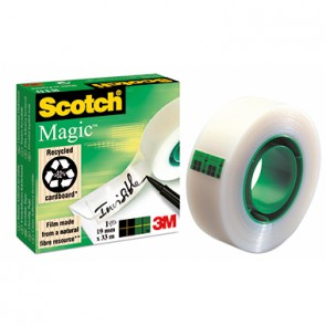 Scotch Klebefilm Magic 810 M8101933 19mmx33m unsichtbar