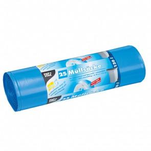 PAPSTAR Müllsäcke 120l / 60mµ 25 Stück blau
