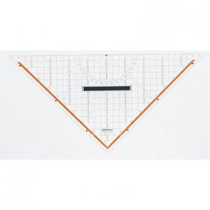 RUMOLD Zeichendreieck 1058 32,5cm Plexiglas transparent