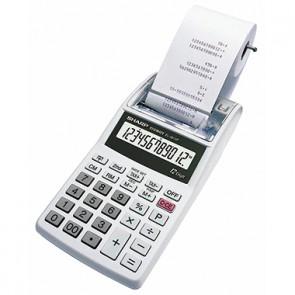 Sharp Tischrechner EL-1611PGY 12Zeichen Netz/Batterie weiß