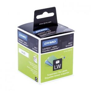 DYMO Hängeablageetikett S0722460 f. LabelWriter 50x12mm ws 220 St./Rl.