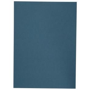 Aktendeckel Manilakarton A4 250g blau ohne Aufdruck