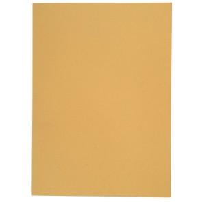 Aktendeckel Manilakarton A4 250g gelb ohne Aufdruck