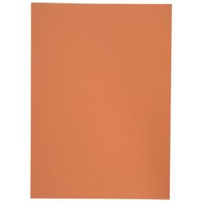 Aktendeckel Manilakarton A4 250g orange ohne Aufdruck
