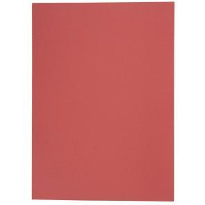 Aktendeckel Manilakarton A4 250g rot ohne Aufdruck
