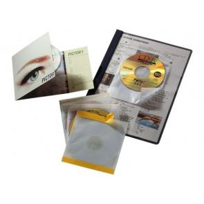 CD Hülle CD FIX tr 10St Klebehülle für 1 CD