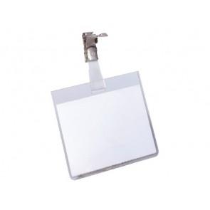DURABLE Namensschild 60x90mm mit Clip Querformat