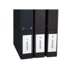 Selbstklebetasche tr 10St Pocketfix 20x75mm