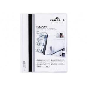 DURABLE Angebotshefter DURAPLUS 2579 A4 weiß transparentes Deckblatt mit Tasche