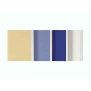 Moderationswand PREMIUM weiß kartonkaschiert, starr, 150x120 cm
